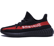 Adidas Yeezy Boost 350 V2 Supreme Black Red