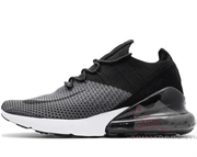 Nike Air Max 270 Flyknit Black Grey