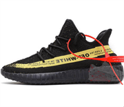 Adidas Yeezy Boost 350 V2 Black Yellow Off White