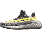 Adidas Yeezy Boost 350 V2 Grey Yellow Off White