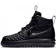 Nike Air Force 1 Lunar Duckboot All Black