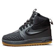 Nike Air Force 1 Lunar Duckboot Black Grey