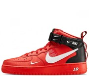 Nike Air Force 1 Mid Utility Red Black