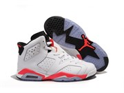Nike Air Jordan 6 Retro (WhiteInfared-Black)