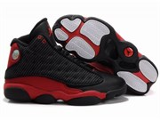 Nike Air Jordan XIII (13) Retro Men (Black Red)