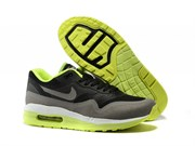 Nike Air Nike Air Max 1 (87) Lunar Men (Black GreyFluorescent Green)