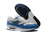 Nike Air Max 1 (87) Lunar Men (WhiteGreyLight Blue)