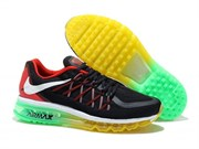 Nike Air Max 2015 Men (BlackUniversity RedEmerald Green)