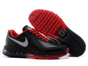 Nike Air Max 2014 Leather Men (BlackRed)