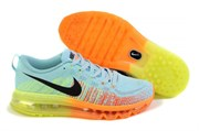 Nike Air Max Flyknit 2014 (Glacier Ice/Black/Atomic Orange/Volt)