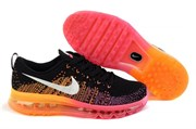 Nike Air Max 2014 Flyknit (BlackBright MagentaAtomic Orange)