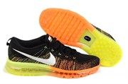 Nike Air Max 2014 Flyknit (BlackSail-AtomicOrange-Volt)